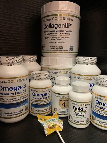 Коллаген collagen California gold nutrition