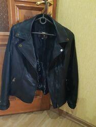 Куртка косуха женская натуральная кожа высокого качества