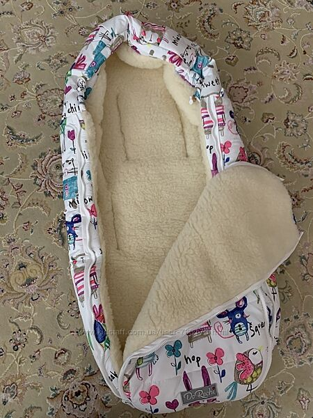 Зимний конверт-кокон для новорожденных и малышей