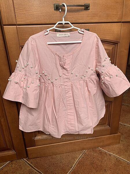 Модная блузка,128/134 рост