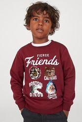 Свитшоты на мальчика H&M  в наличии