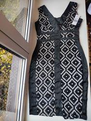 Элегантное новое вечернее платье амер. бренда р-р М