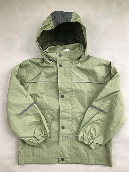 Куртка ветровка дождевик, непромокайка, на подкладке Alive. Германия. 128
