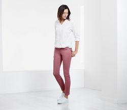 Шикарные, модные брюки цвета розы ТСМ Чибо. 38 евро