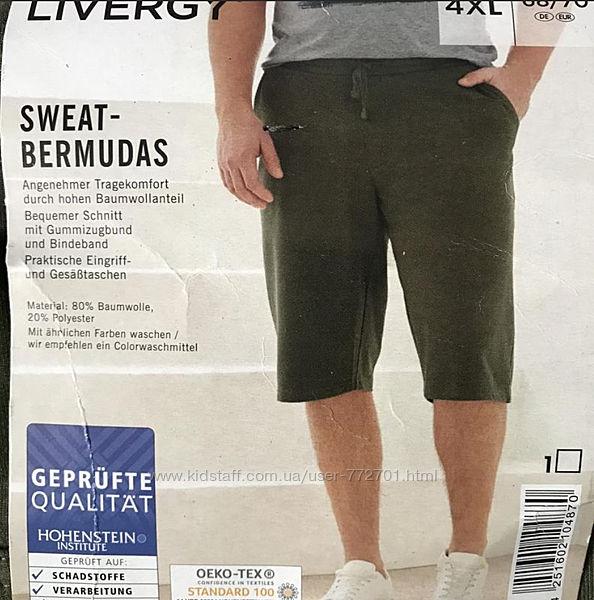 Отличные шорты бермуды Livergy. 4XL