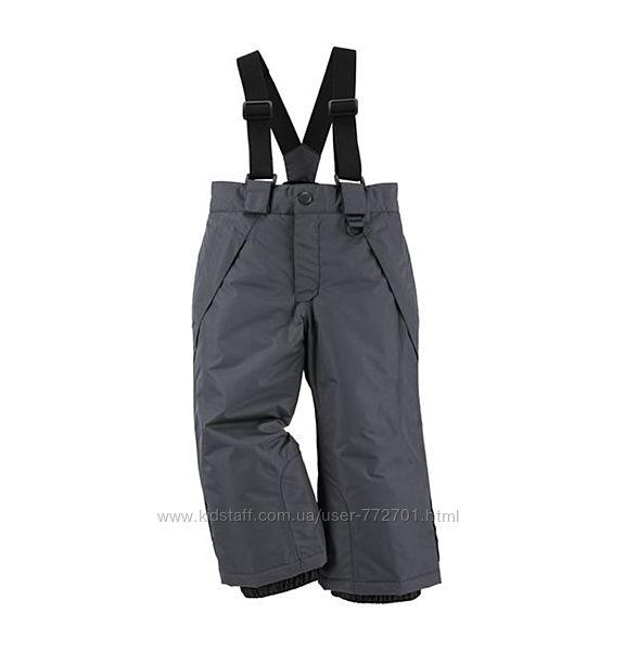 Полукомбинезон теплый зимний, штаны лыжные Lupilu. 86-92