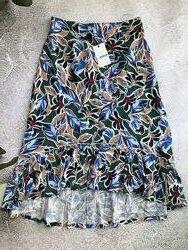 Модная летняя юбка, удлиненная спинка, британского бренда Jensen. S M