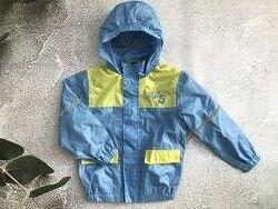 Куртка ветровка дождевик, на подкладке, Lupilu. Германия. 110-116