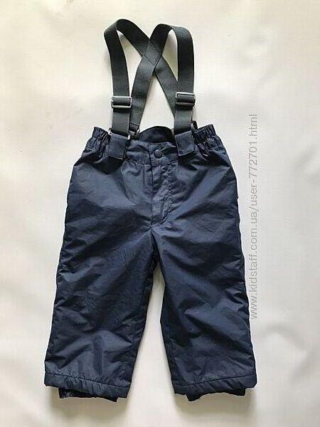 Полукомбинезон, штаны лыжные, утеплитель тинсулейт, Impidimpi.   74/80 б/у
