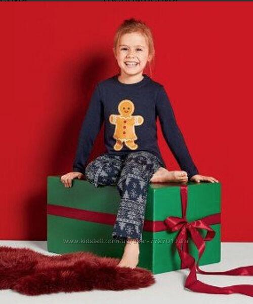 Отличная пижама, комплект, для девочки, Lupilu. 110-116