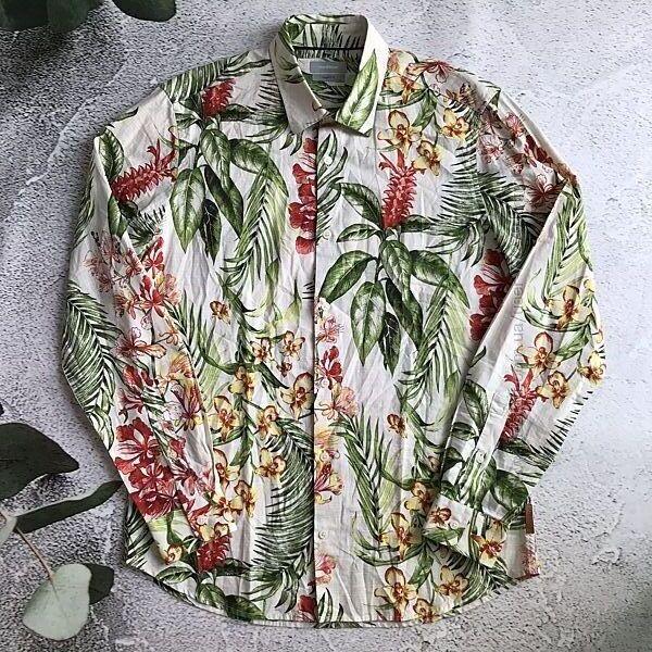 Стильная гавайская рубашка, Mаddison modern fit. М ворот 39/40