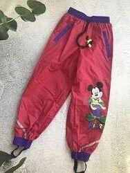 Водонепроницаемые штаны брюки дождь, грязепруф, Disney Puttmann. 128