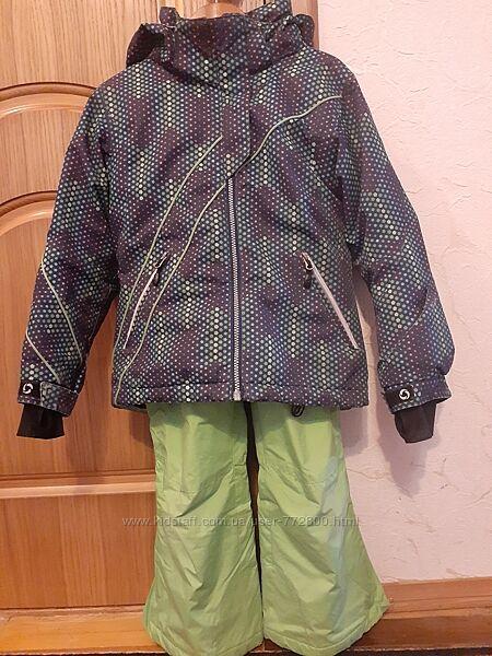 Зимний горнолыжный костюм  ETIREL 128р. Бу в хорошем состоянии