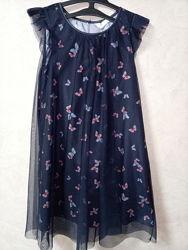 Платье фирмы h&m на 9-10 лет