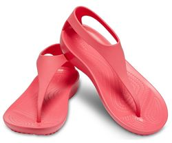 Босоножки, сандалии крокс Crocs Serena Serena Flip, 38, 39