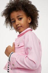 Стильный твиловый джинсовый пиджак H&M