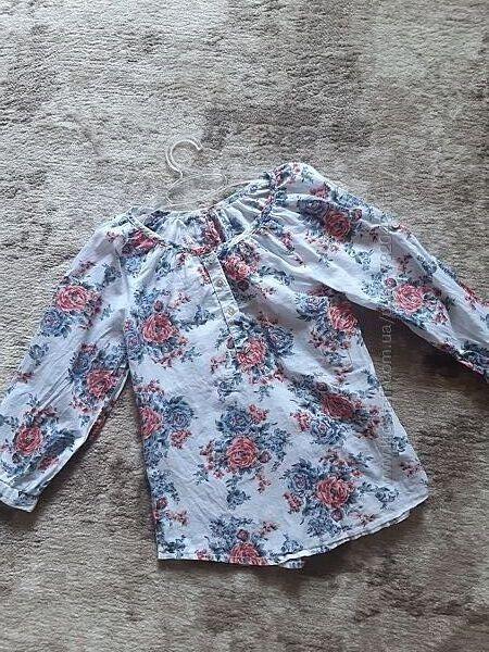 Красивая летняя рубашка блузка