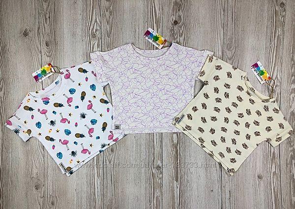 Стильные футболки широкого кроя со спущенным плечом от Bright Berries