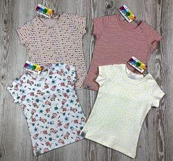 Классные футболки для девочек от bright berries