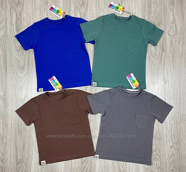Крутые базовые футболки для мальчика от bright berries