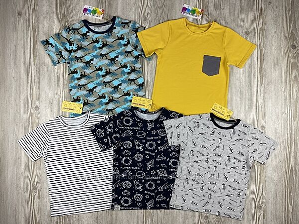 Яркие футболки для мальчиков от bright berries