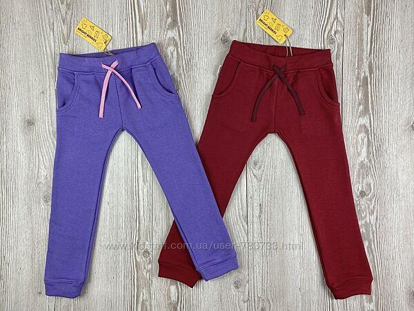 Стильные плотные штаны для девочек от bright berries
