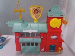 Пожарная станция  matchbox