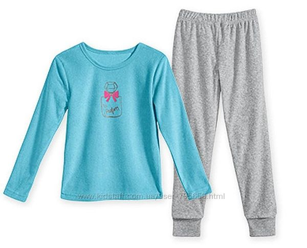 Пижама махровая теплая 128-134-140 Alive Германия