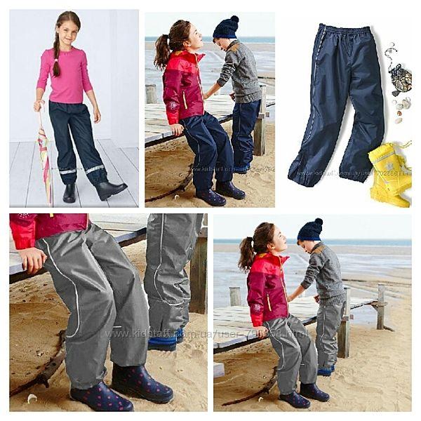 Непромокаемые демисезонные брюки штаны полукомбинезон для катания на горках