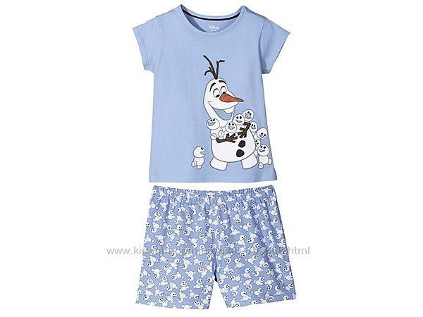 Пижама Олаф Холодное сердце 80 86 92 см 1-2 года Lupilu Германия