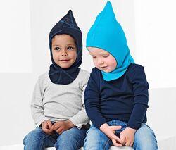 Универсальная двусторонняя двойная шапка шлем балаклава 2-8 лет Tchibo