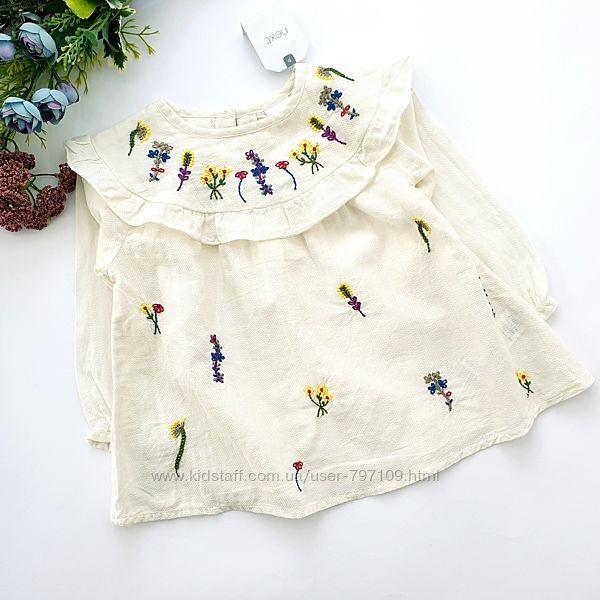 новые красивые блузки, рубашки девочкам