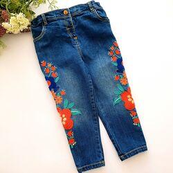 разные фирменные джинсы р. 98