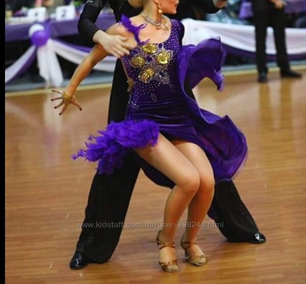 Платье для танцев рост 140-160