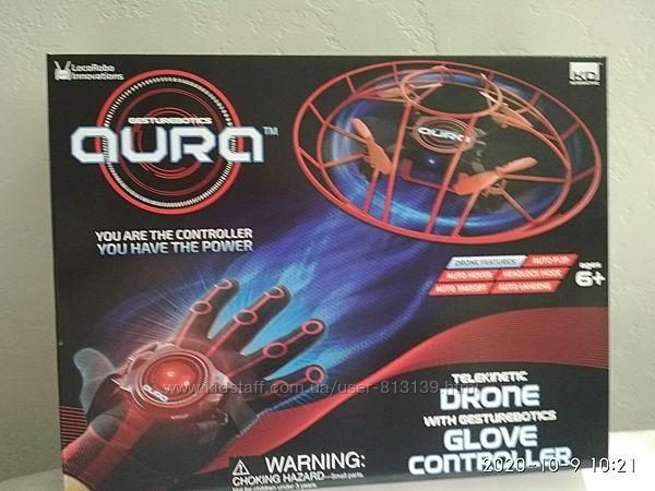 KD Interactive Aura Drone with Glove Controller дрон управляемый жестами