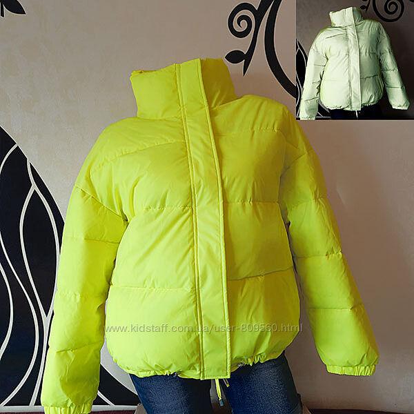 Женская светоотражающая куртка