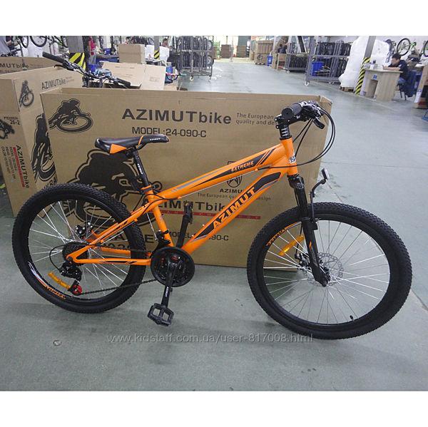 Азимут Экстрим 24 frd Azimut Extreme велосипед горный одноподвес