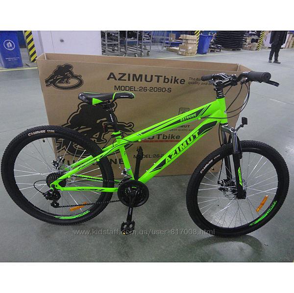 Азимут Экстрим 26 Шимано велосипед горный мтв одноподвес