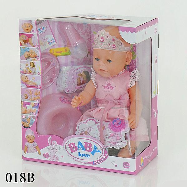 Пупс Беби Лав Baby Love кукла интерактивная пупсик 012А