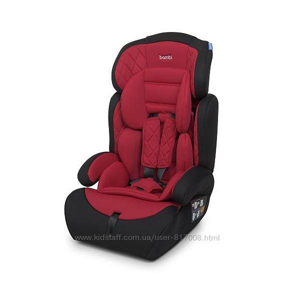 Бемби 3546 автокресло 9 мес- 12 лет Bambi детское автомобильное кресло