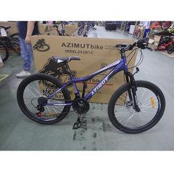 Азимут Форест 24 Шимано велосипед горный Azimut Forest GD