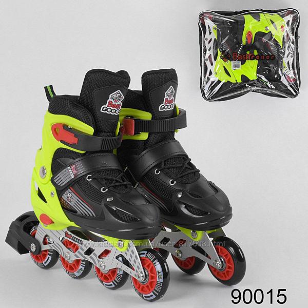 Best roller ролики M 34-37 размер роликовые коньки светящиеся колеса