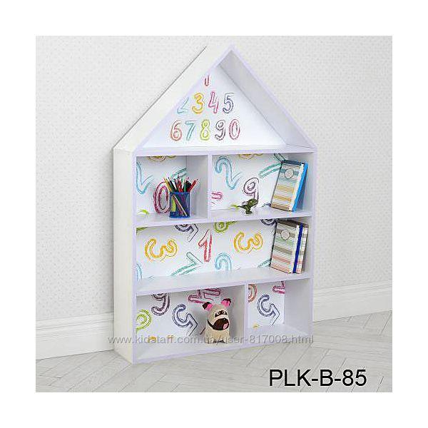 Домик полка PLK-B стеллаж для детских вещей