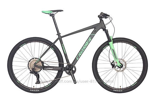 Crosser 075-C 29  дюймов велосипед горный найнер алюминиевая рама