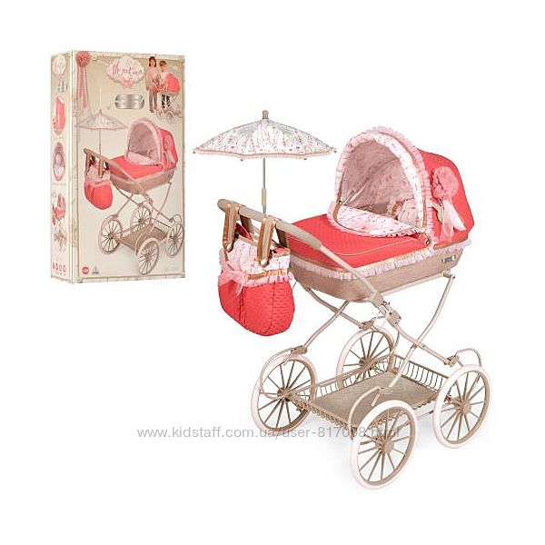 Мартина 81033 кукольная коляска с зонтиком испанская