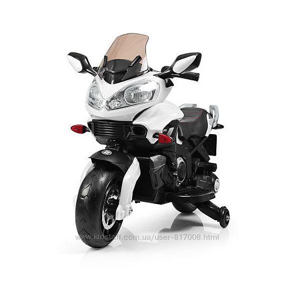 Мотоцикл 3630 EL детский электро двухколесный с дымом