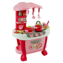 Набор игровой кухня 008-801 игрушка интерактивная с аксесуарами