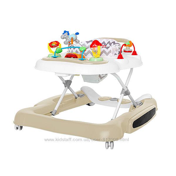 Carrello Tesoro 12703 ходунки прыгунки качалка детские игровой центр