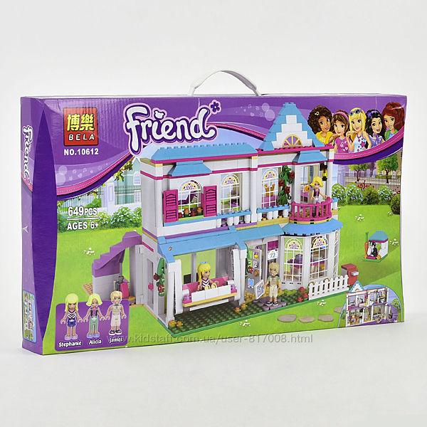 Bela Friends 10612 конструктор дом Стефани для девочек аналог лего