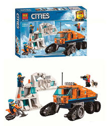 Bela City 10995 конструктор Грузовик ледяной разведки Бела Сити